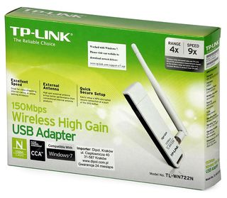 Wireless USB Adapter TP-LINK TL-WN722N
