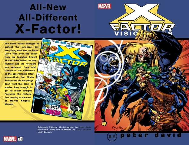 X-Factor Visionaries by Peter David v01 (2005)