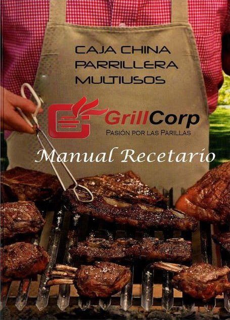 descargar Caja china parrillera multiusos: Manual recetario [PDF] gratis
